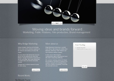 Bridge Marketing   Advertising   Moving Ideas and Brands Forward