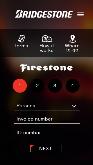 Bridgestone App (TDG Form page1)