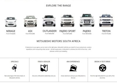 Mitsubishi South Africa