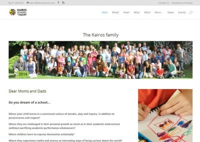 Kairos school website