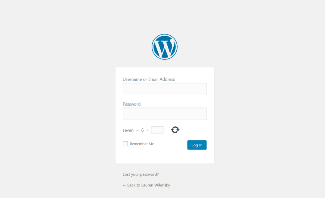 WordPress login, where to login and how to reset your password